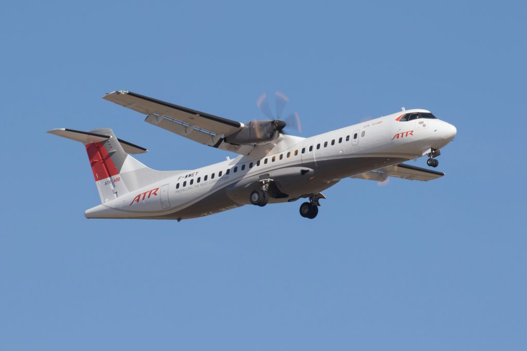 ATR 72-600 Pre-series MSN 98 demo Francazal