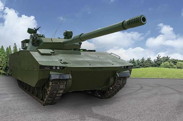 Sabrah Light Tank ASCOD