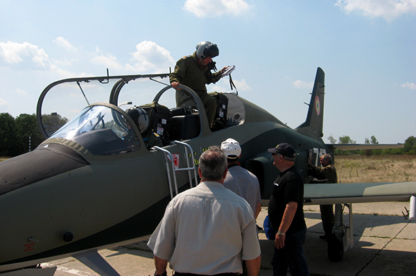 IAR-99 aircraft