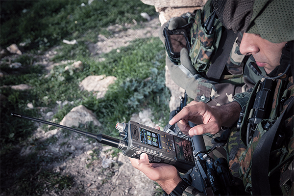 Elbit Systems E-LynX SDR Handheld