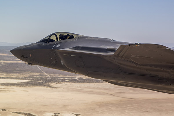 F35 Aircraft. Picture credit: Lockheed-Martin
