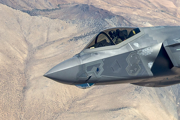 F35 Aircraft. Picture credit: Lockheed Martin
